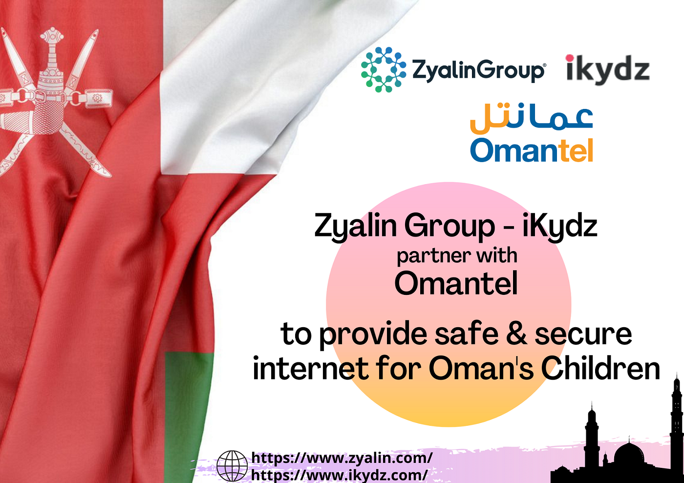 Zyalin Group Launches it's Parental Control Suite in The Sultanate of Oman in Partnership with Omantel